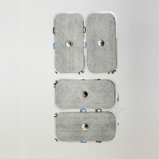 """Sheet of 4 Self Adhesive electrodes 2x4"""" (50x100 mm)"""
