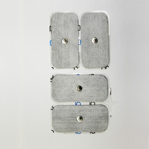 Set of 4 Self Adhesive electrodes 2×4″ (50×100 mm)
